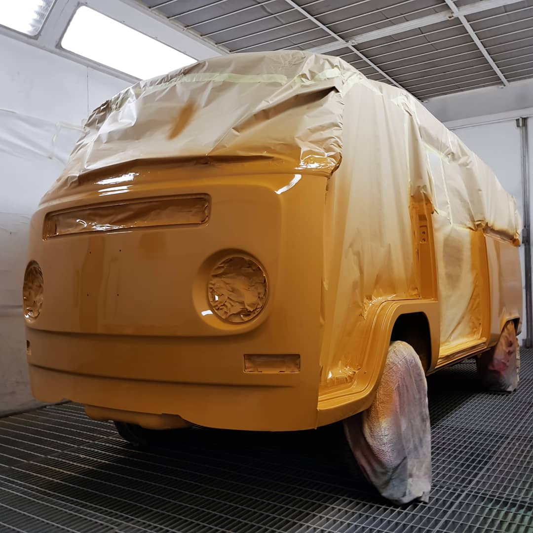 Sierra Yellow L11H VW Campervan