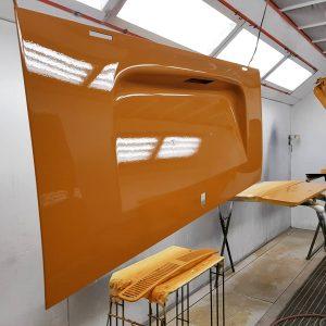Sierra Yellow L11H VW Campervan